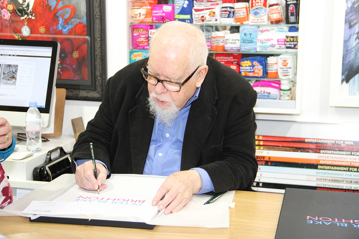 Peter Blake Artist Interview