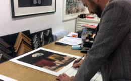 Joe Webb - Spotted in the artrepublic Gallery