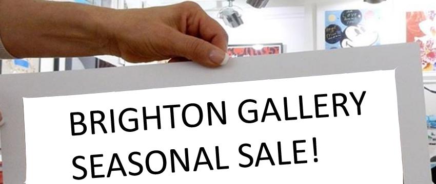 Brighton Gallery Seasonal Sale