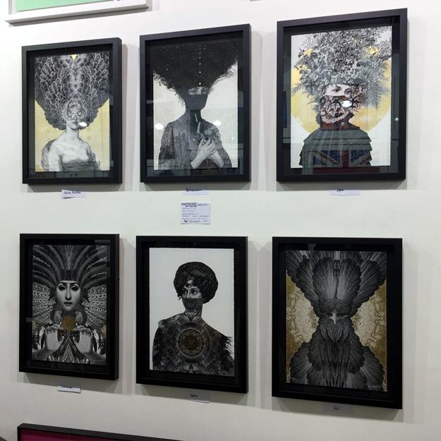 Dan Hillier's box set of prints Six Women