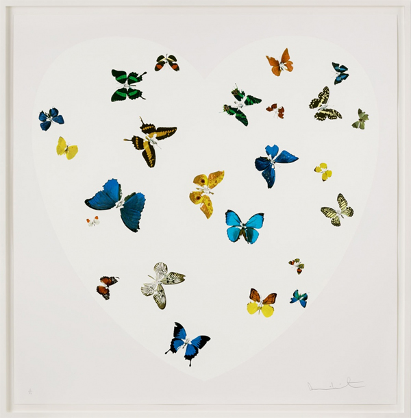 Damien Hirst — Love is All You Need