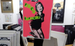Anarchy With Jamie Reid In The Brighton Gallery