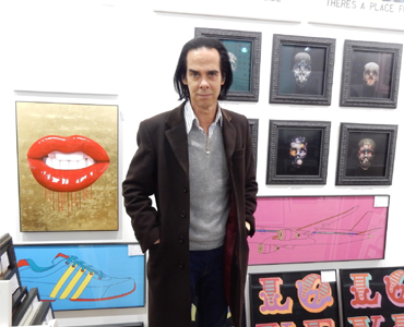 Nick Cave In Our Brighton Gallery