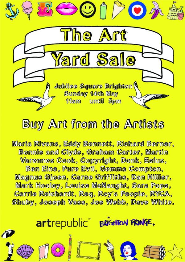Art Yard Sale