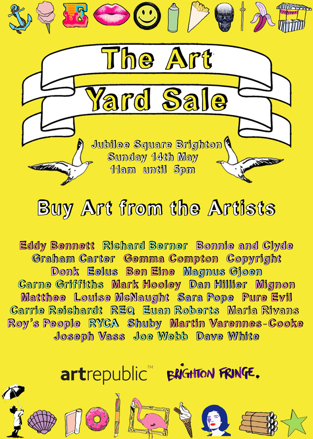 The Art Yard Sale 2017