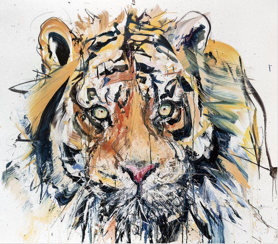 Diamond Dust Tiger