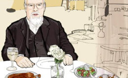 A Lunch Date With Sir Peter Blake