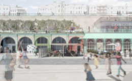 artrepublic Brighton supports crowd fund to Save Madeira Terraces