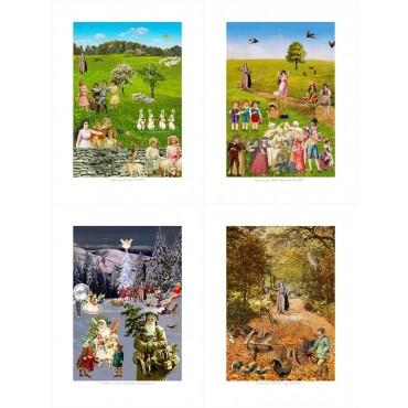 Four Seasons by Peter Blake