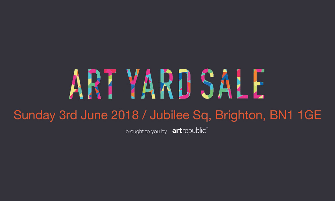 artrepublic Art Yard Sale