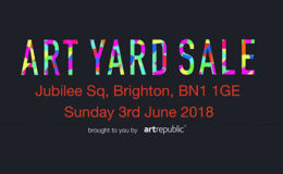 Back Once Again: the Art Yard Sale at Brighton Fringe Festival