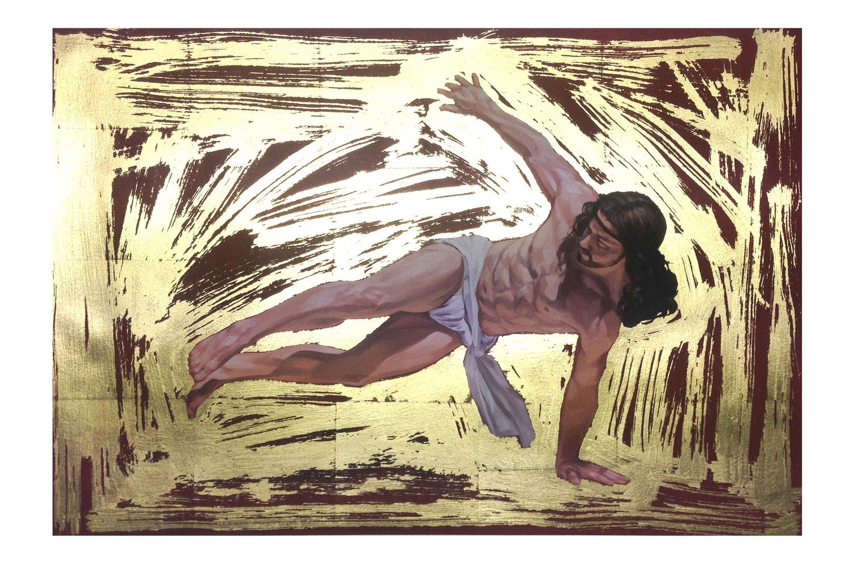 Break-dancing Jesus - Flares