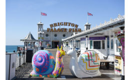 A Snail's Place: catch Brighton's latest charitable art trail this autumn