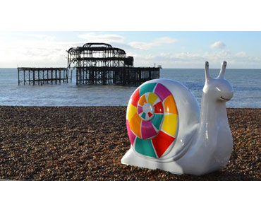 Take to the Snailspace trail, in Brighton this autumn
