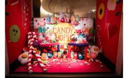 Lucy Sparrow creates a festive felt wonderland for Hermes shoppers