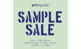Save the date: artrepublic's first Sample Sale