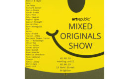 Mixed Originals Show – new work at artrepublic Brighton