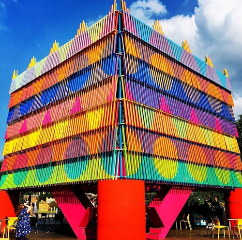 The Colour Palace by Yinka Ilori