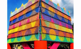 Yinka Ilori's Colour Palace 'does good'