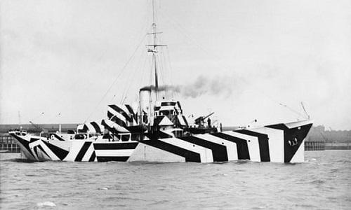 World War I boat