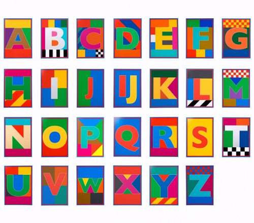 Peter Blake Dazzle Letters