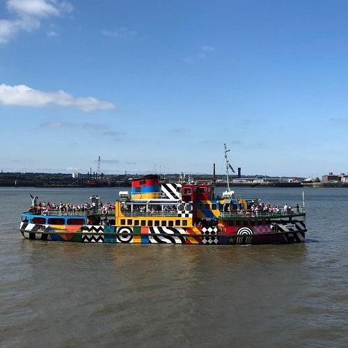 Peter Blake 'Dazzle Boat'