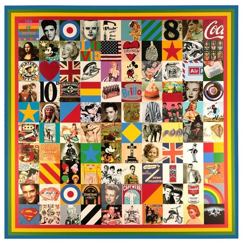 Peter Blake 100 Sources of Pop Art