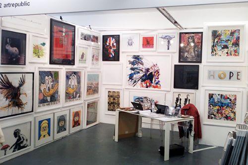 artrepublic at Manchester Art Fair