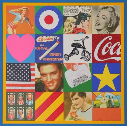 Peter Blake Sources of Pop Art 3