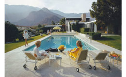 Slim Aarons 'Poolside Gossip' 50th Anniversary
